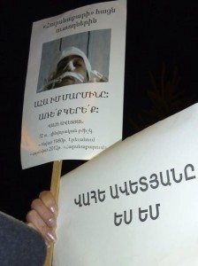 P1040074 224x300 Dressed for Death: Demonstrators Remember Beating Victim Vahe Avetyan