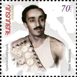 Hrant Shahinyan Armenian Olympians: Ancient Olympiads to London 2012