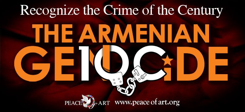 Sponsored by Peace of Art, Inc., the 2014 Armenian Genocide commemorative billboards honor the victims and survivors of the Armenian Genocide.