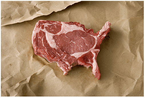 Map Monday Maps Of Food A Different Take - Map of kobe beef in us