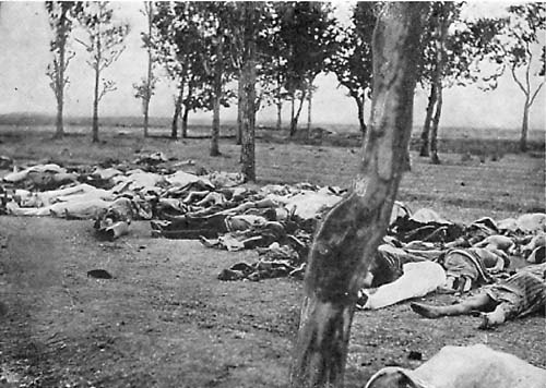 Pictures of Dead Bodies from Armenian Genocide 1915