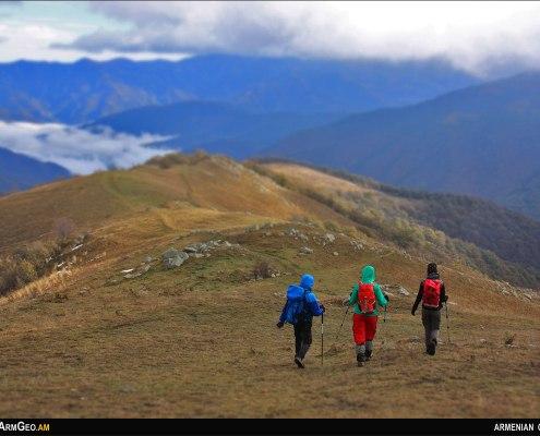 Hiking from Tsovagyugh to Gosh