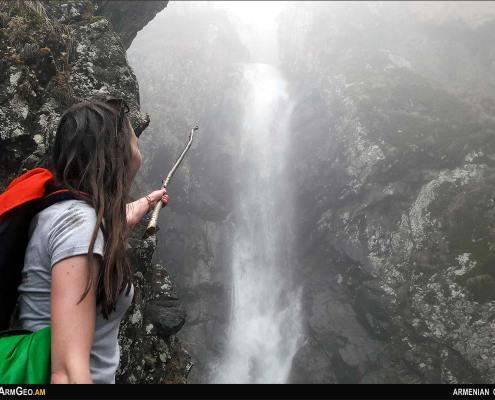 Waterfall Sharach / Tavush province