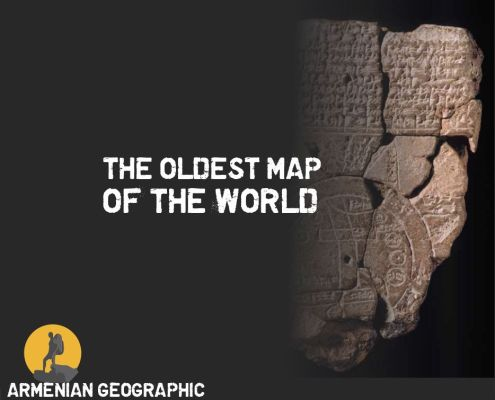 The oldest map of the world