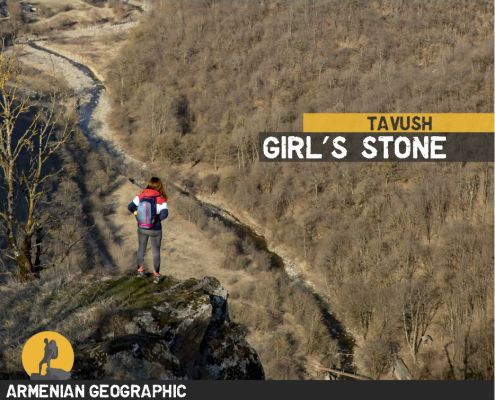Girl's stone
