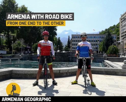 Armenia with road bike