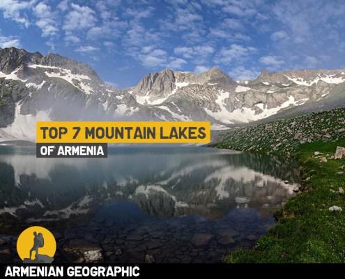 Mountain lakes of Armenia