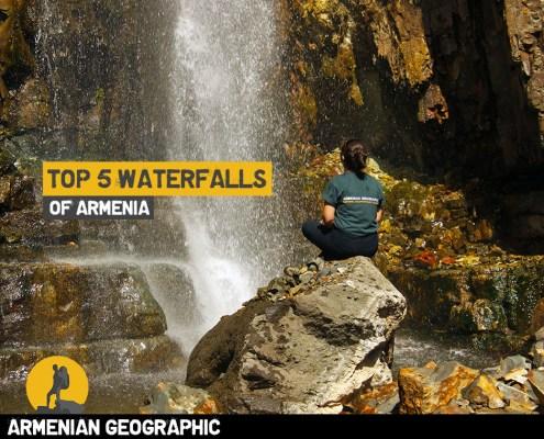 the most beautiful waterfalls in Armenia