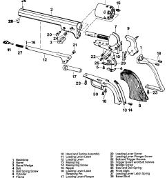 colt police positive 1st issue transitional revolver colt da revolver schematic armi militari leggere [ 1980 x 2299 Pixel ]