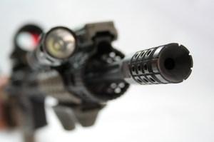 Ares Armor – Compensator EFFIN – Vista frontale