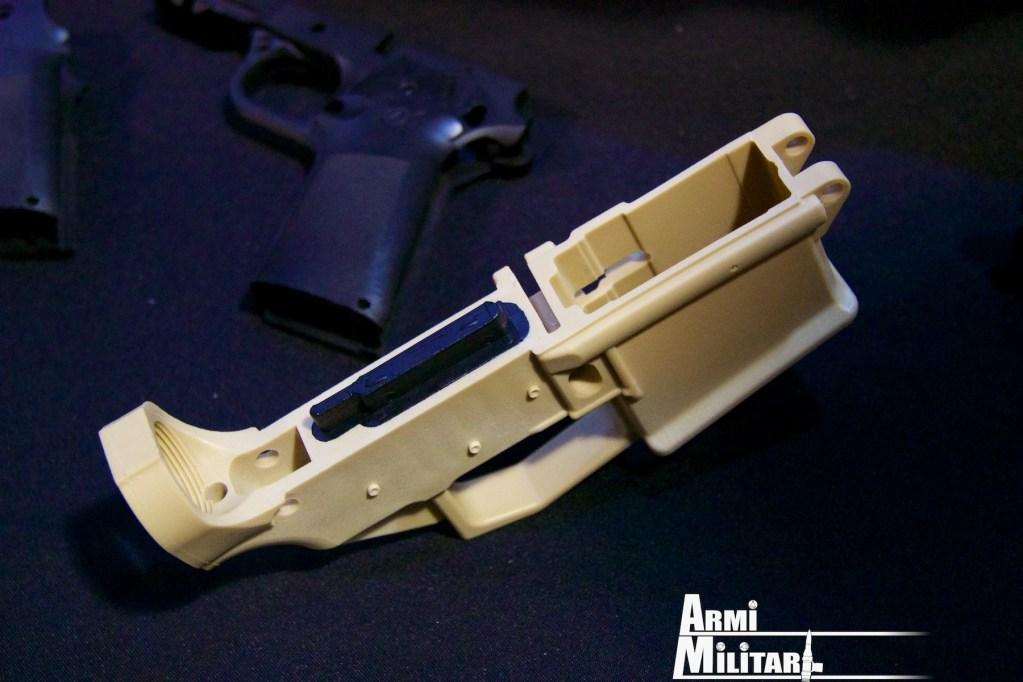 Ares Armor - Receiver AR-15 polimerico - Visto da sopra