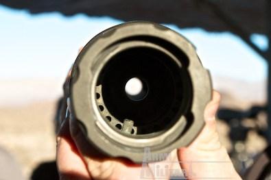 SHOT Show 2014 - Media Day Preview - Barret M105 interno soppressore acustico