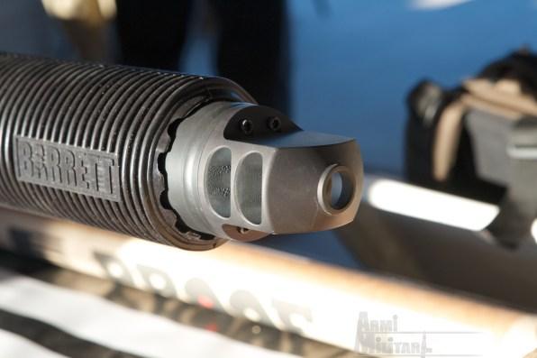 SHOT Show 2014 - Media Day Preview - Barret M105 particolare volata del soppressero