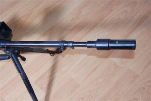 Granatbuchse Modell 39 - Dettaglio canna