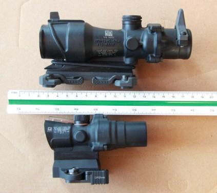 TA44 1.5x16 vicino una TA01 4x32