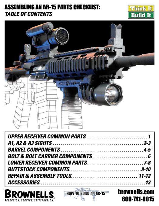 AR15 Assembly Checklist