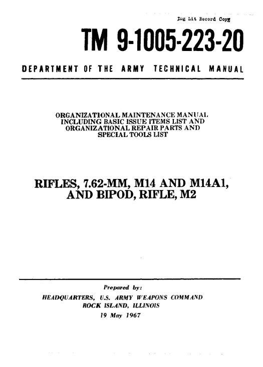 M14 TM9-1005-223-20(1)