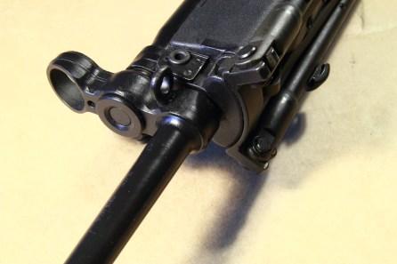 MKE T41 - Blocchetto frontale con la mira