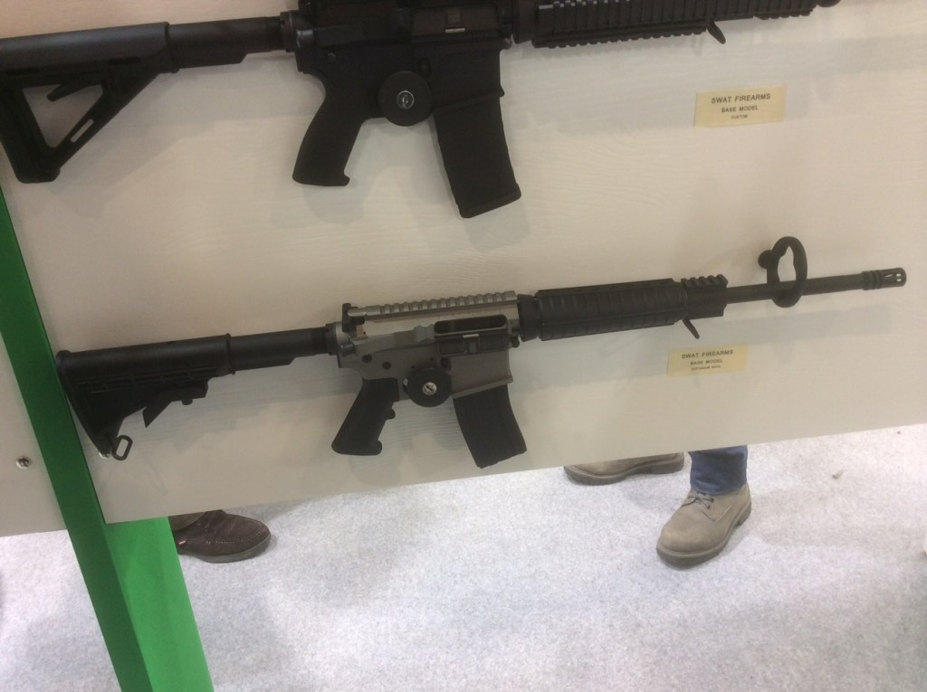 Swat Firearms From Redolfi - HIT 2015
