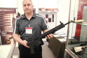 Un interessante novità sono gli Sporting Rifle di Troy, in 223 e 308, in pratica degli AR15 a pompa, offerti a prezzi molto interessanti