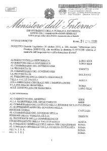 Circolare 577/PAS/10900(27)9 del 24 giugno 2011 - Dlgs 204/2010 Attuazione Direttiva 2008/51/CE