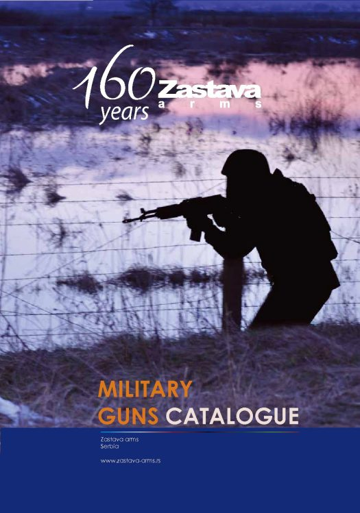 Zastava Military Catalogue 2013