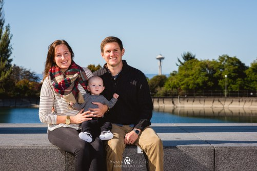 The Andersens at Volunteer Park