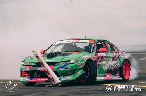 Alec Hohnadell at Formula DRIFT Seattle 2015