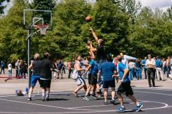 Basketball at Fluke Day