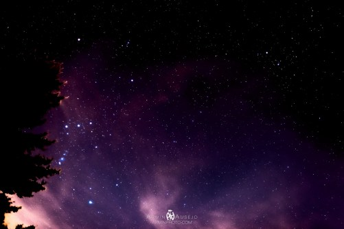 Orion and Taurus