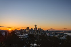 Seattle Sunrise at Kerry Park
