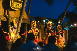 Hula Dancing at Germaine's Luau
