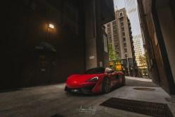 Will's McLaren 570S in Downtown Seattle