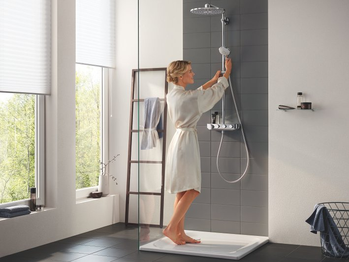 duschsystem grohe euphoria smartcontrol system 310 duo mit thermostatmischer 26507000