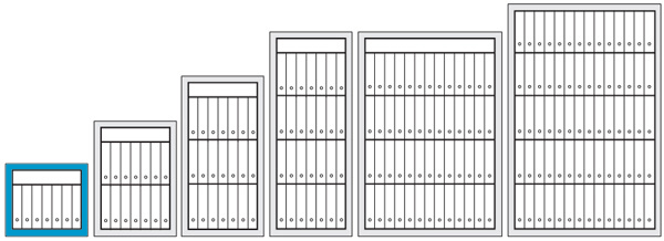 Armoire Forte Ignifuge Papier Bas 1 Porte Modle PK 410