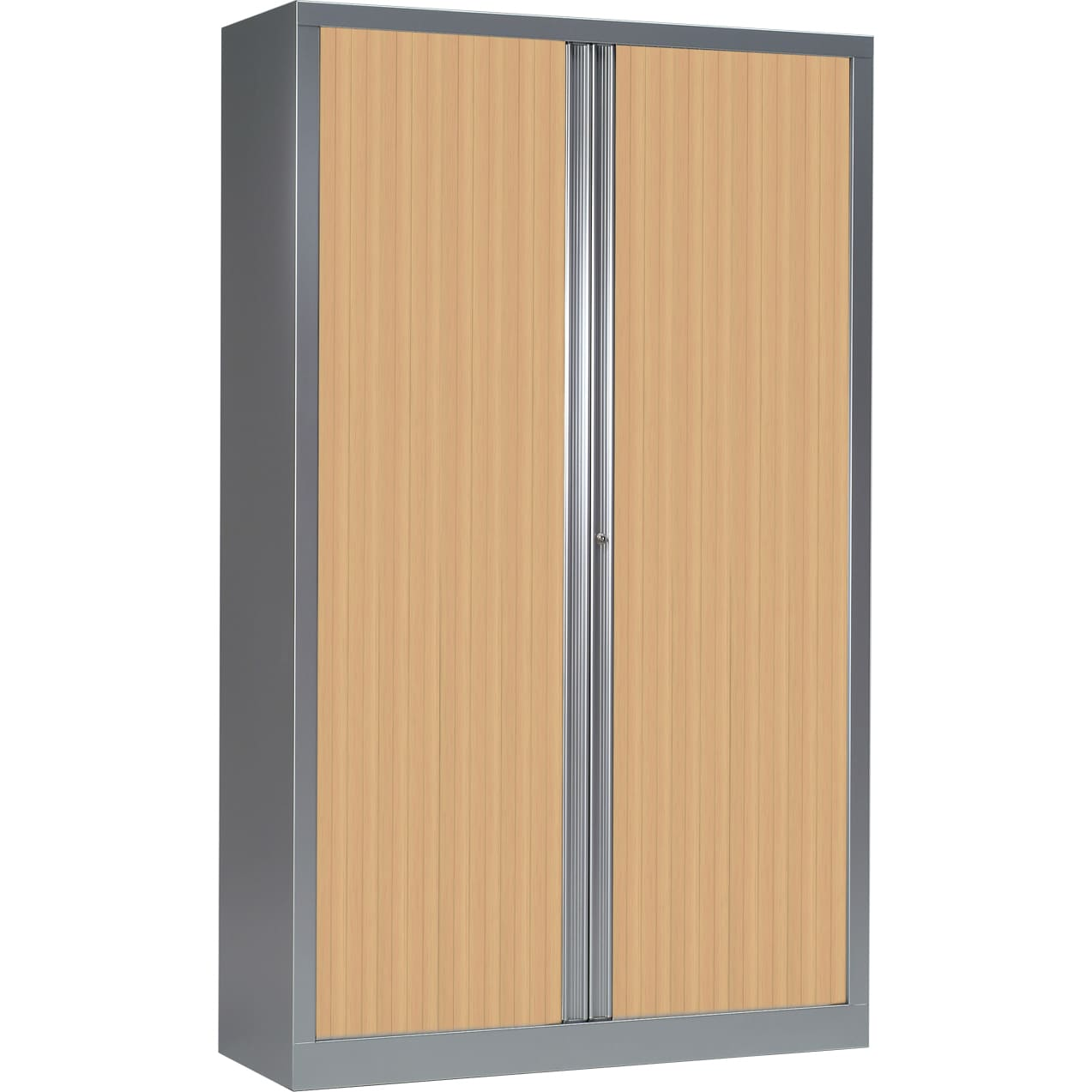 armoire alu rideaux chene clair h198 l120 serie plus
