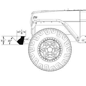 Frame-Built Jeep Bumper #231011, CJ