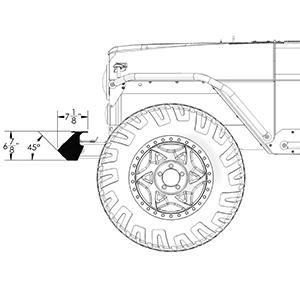 Frame-Built Jeep Bumper #211002, CJ