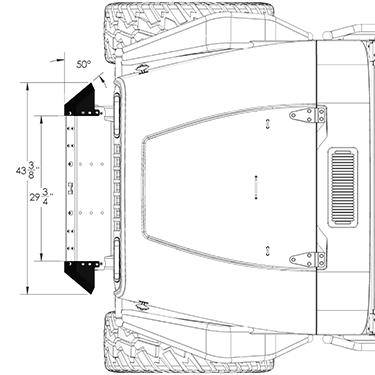 Frame-Built Jeep Bumper #270004, YJ