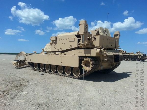 M1 Assault Breacher Vehicle Abv . Taj Walkarounds