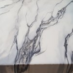 Armortech Epoxy Floor Contractor Portland Vancouver Hand Poured Faux Carrara Style White Marble Epoxy Countertop Over A Client S Diy Concrete Countertop In Beaverton Oregon Titanium And Gunmetal Veining Accents