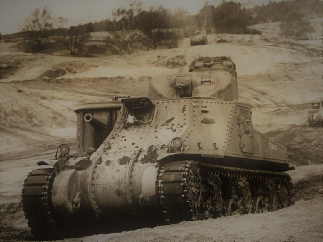 M3 Medium Tank trials