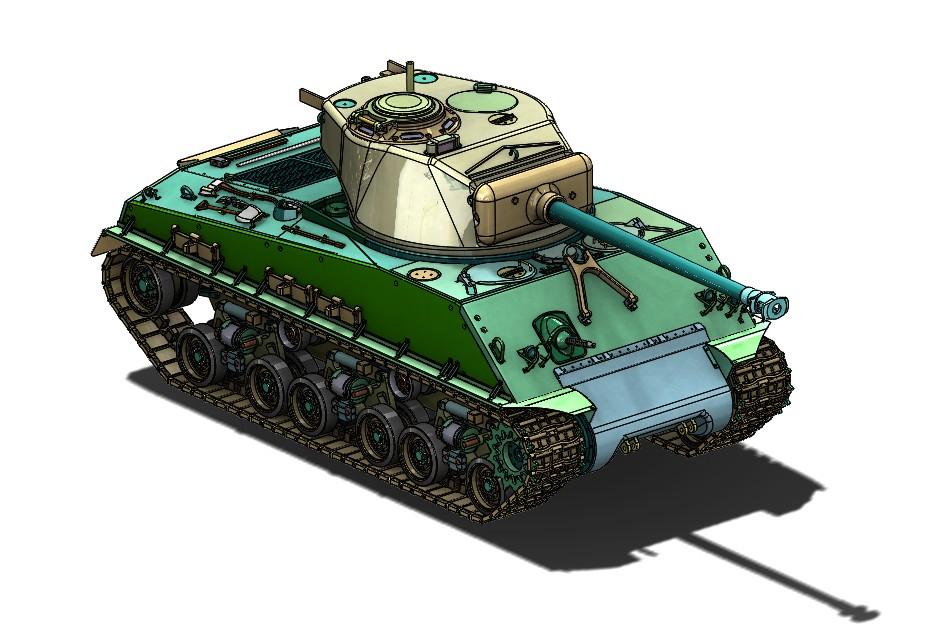 ARMORTEK SHERMAN M4A3E8