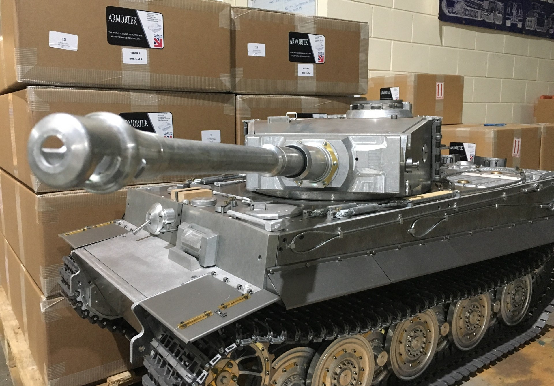 Armortek 1:6 scale Tiger 1