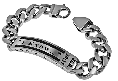 191fcad922ad0 ID Bracelets for Men With Scripture