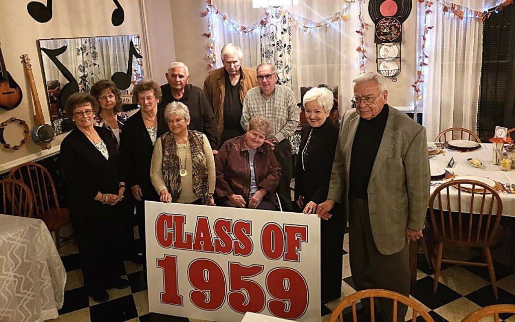 Class of 1959 reunion photo