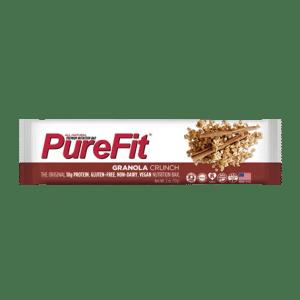 PureFit Nutrition Bars Granola Crunch Protein Bar