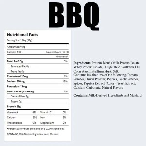 Quest Chips BBQ Improved Nutrition Facts ArmourUP Asia Singapore