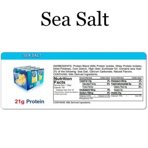 Quest Chips Sea Salt Nutrition Facts Protein