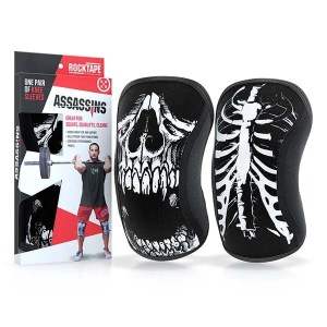 Rocktape Assassins Knee Sleeves Skull Pair ArmourUP Asia Singapore
